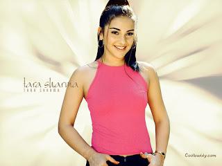 Tara Sharma Hairstyle Photo Gallery