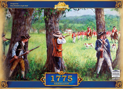 1775 American revolution board game