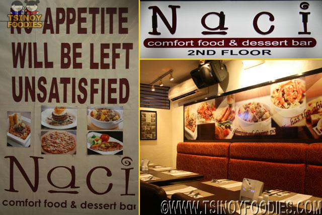 naci comfort food and dessert bar