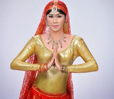 Xem Hoài Linh làm công chúa Ấn Độ thật đẹp