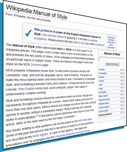 Wikipedia:Manual of Style