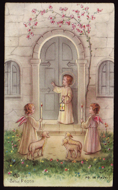 Holy Cards For Children Christ Child