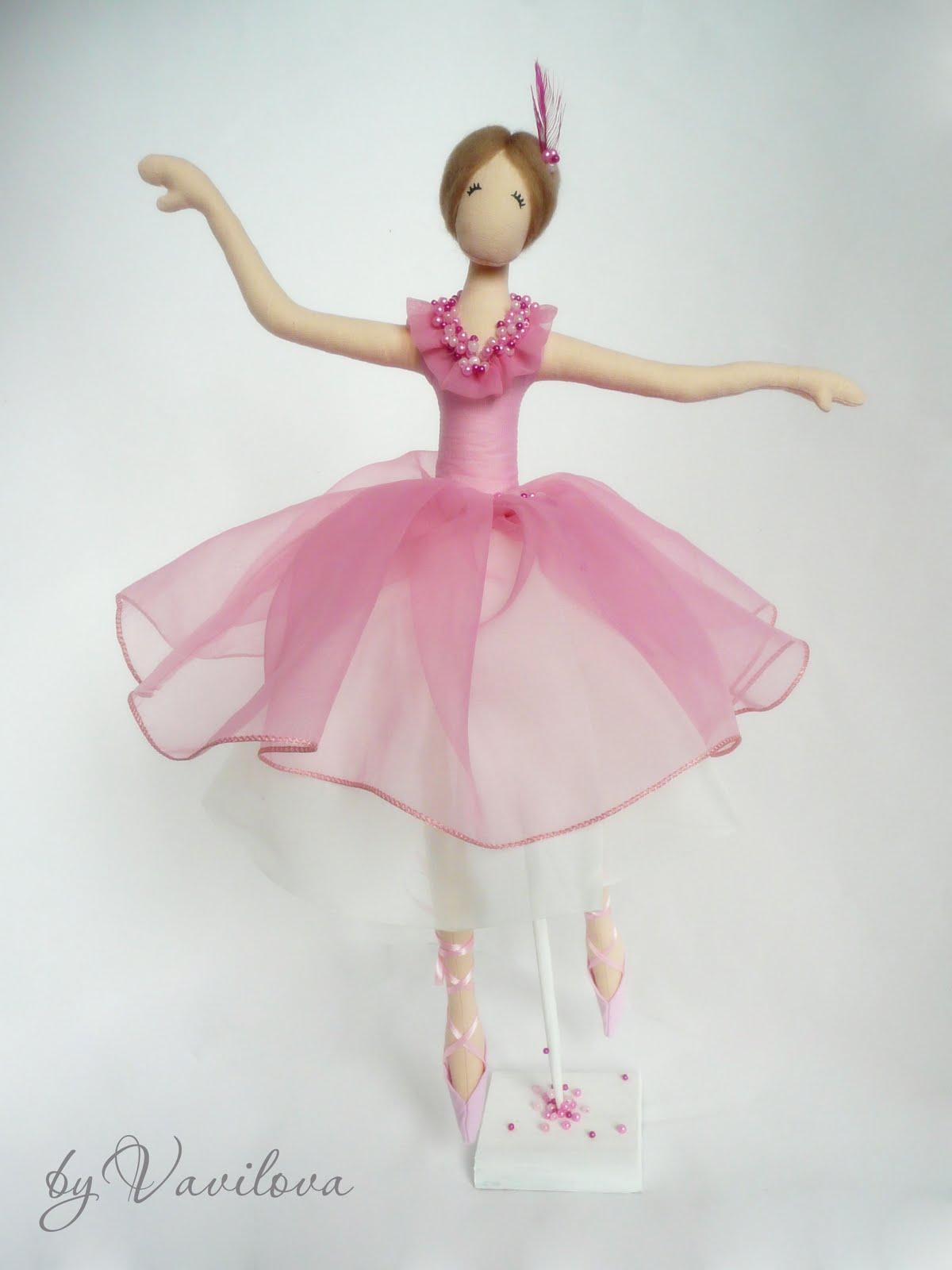 Кукла балерина своими руками