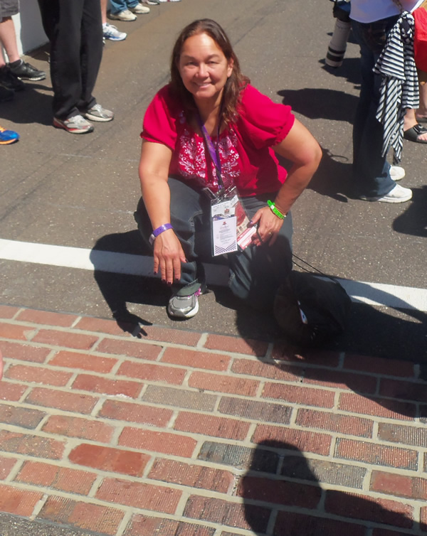 NASCAR Race Mom at the Brickyard 2013 (#nascar)