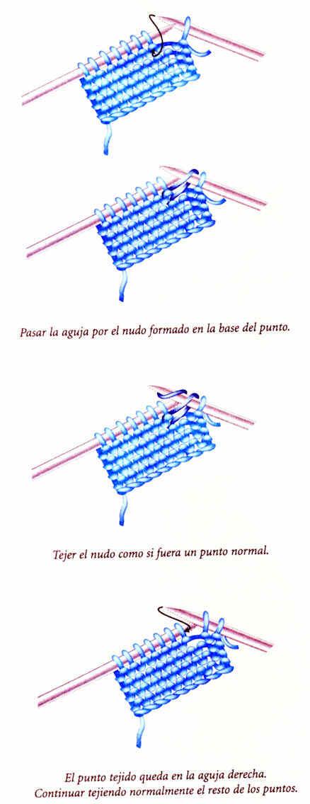 Croche Madona-mía puntos y graficos: Poncho tejido en dos agujas ...