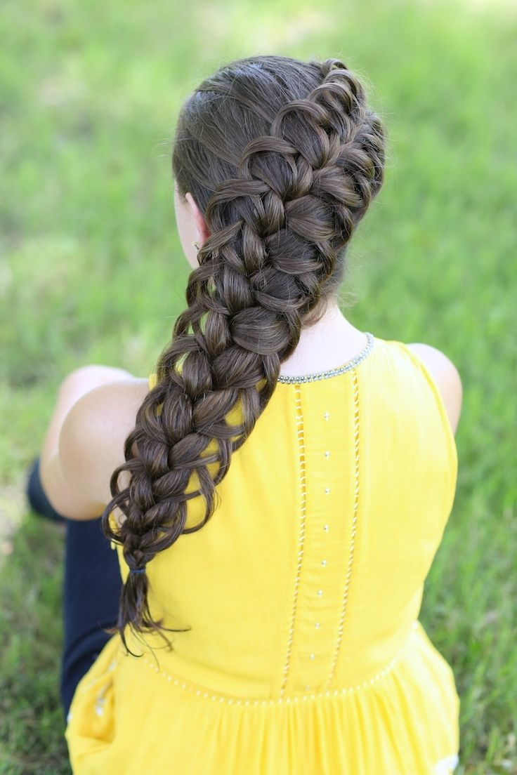 Hairstyles For Long Hair Cgh : La moda en tu cabello: Originales peinados con trenzas - Tendencias ...