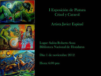 """INVITACION A LA EXPOSICION """" CRISOL Y CARACOL"""""""