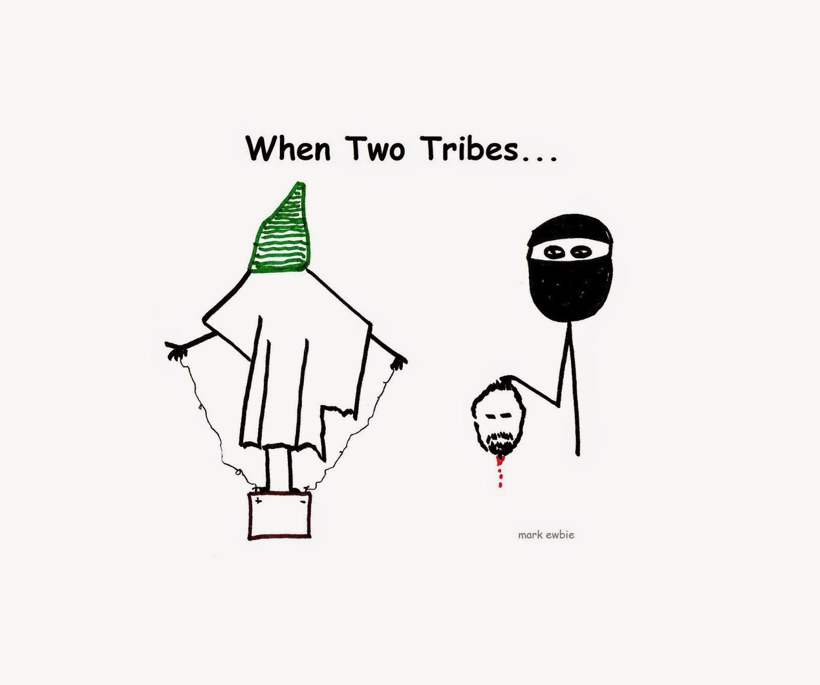 when two tribes go to war - abu ghraib and islamic state
