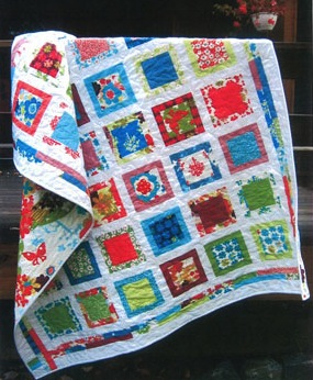 Around The Block quilt pattern by Sweet Jane's Quilting and Design