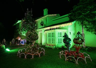 Imagens de Decoração de Casas Decoradas para o Natal