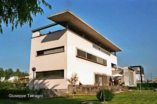 Villa estilo Moderno en Seveso, Italia 1937