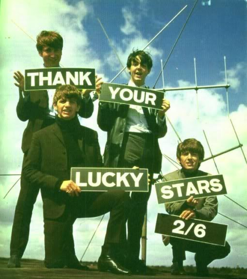Bildresultat för The Beatles at Thank Your Lucky Stars in january 1963