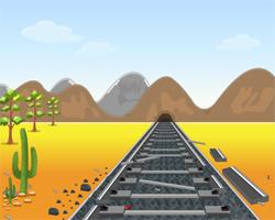 Juegos de Escape Live Escape: Broken Train Track