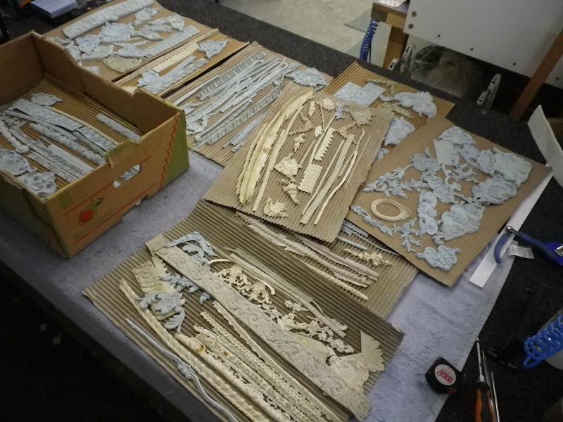Framemaker boxwood mould impressions