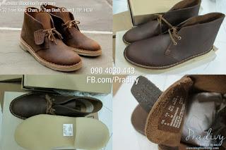 Giày Clarks Original Desert Boot Beeswax Chính Hãng Order USA
