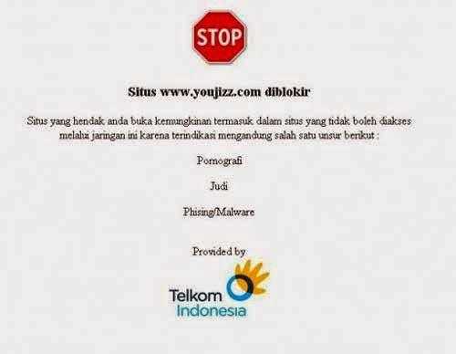Cara gampang membuka situs internet / website yang di blokir