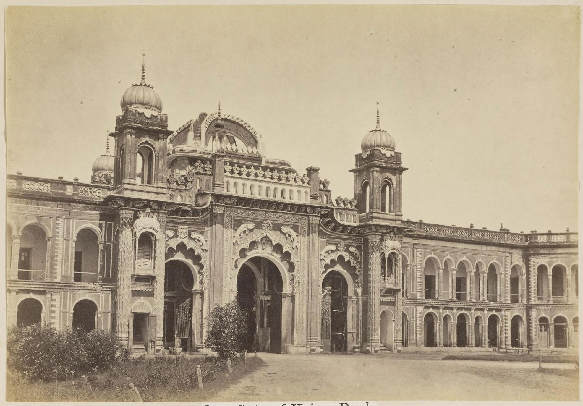 Gate of kaiser bagh lucknow 1870 39 s old indian photos for Home architecture in lucknow