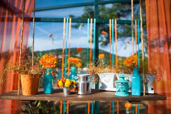 decoracao casamento rustico azul e amarelo:Enviar por e-mail BlogThis! Compartilhar no Twitter Compartilhar no