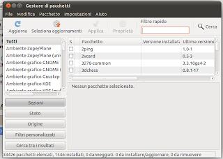 software manager ubuntu 11
