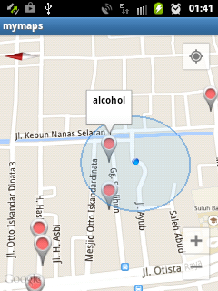 Google Maps Android Marker