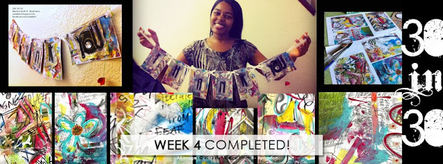 Martice Smith II completes her 30 day art challenge!