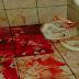 Homem é morto com pedaços de vaso sanitário, na Paraíba