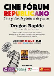 Cine fórum republicano en el Puerto de la Torre