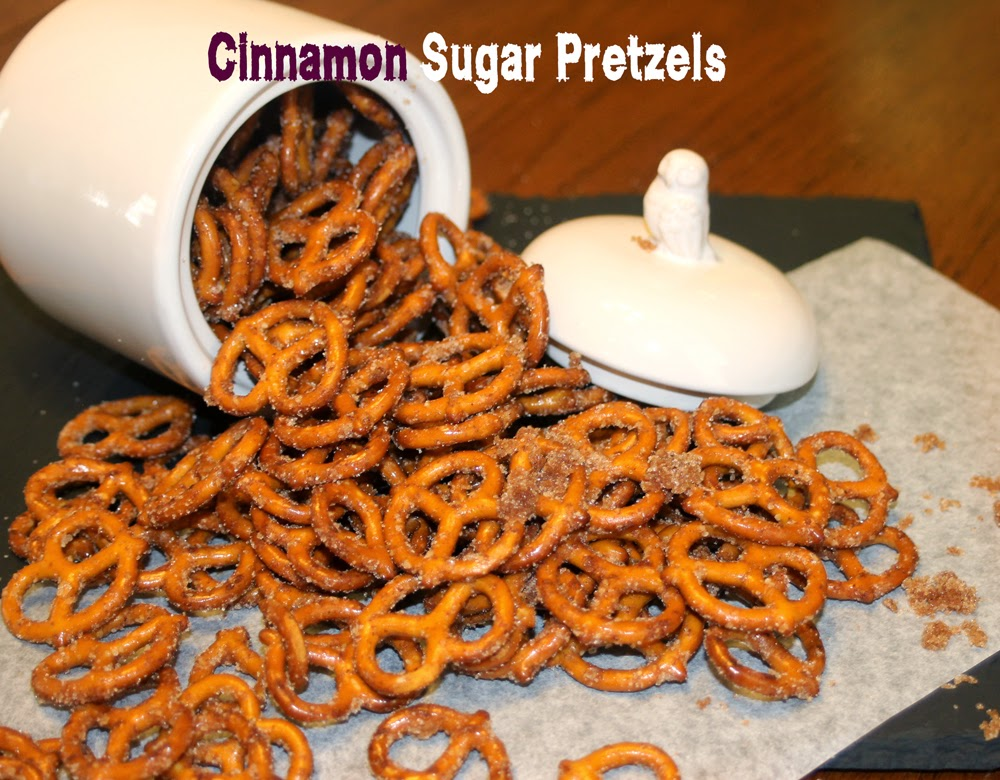 Cinnamon sugar pretzels, shared by Love Food Will Share