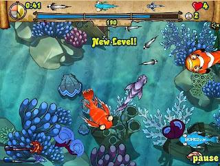 Zippy Fish, caza peces