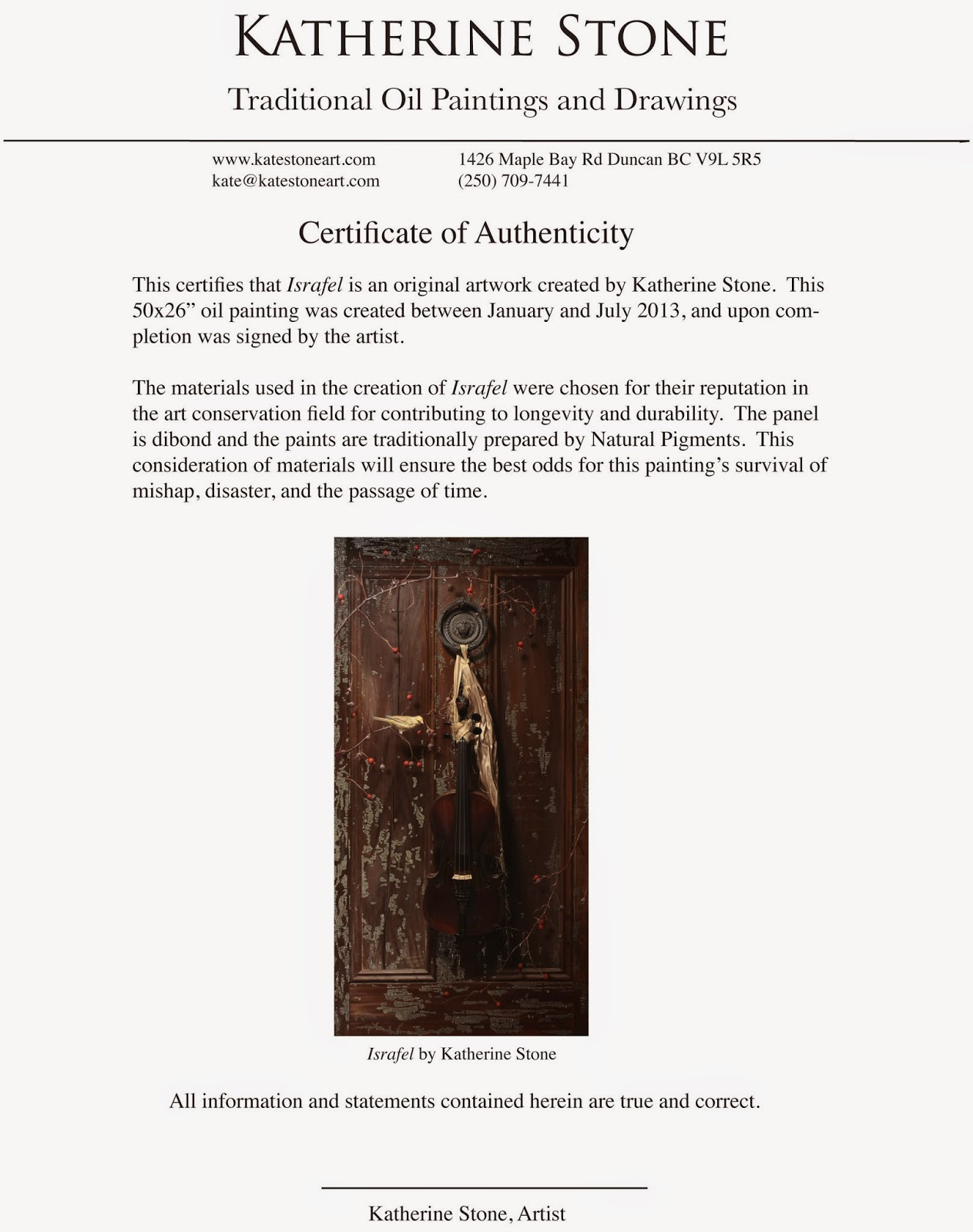 Certificate of authenticity photography template 28 images to certificate of authenticity photography template painting stuff to look like stuff israfel yadclub Image collections