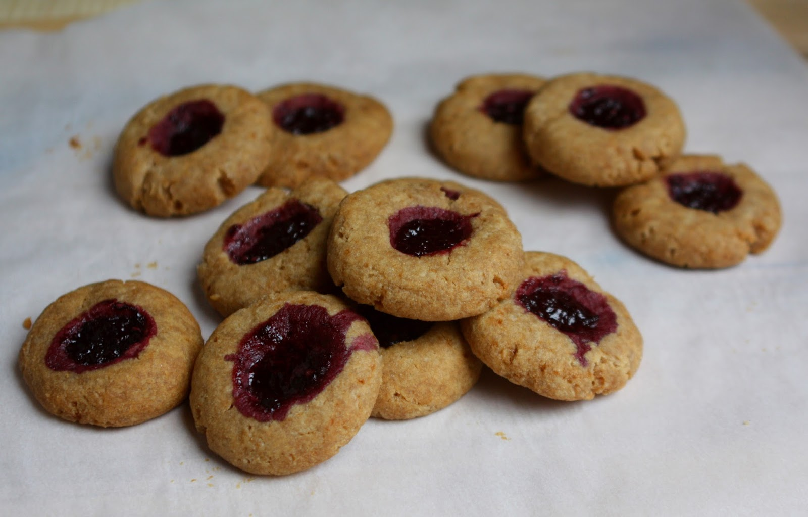 Blackberry Jam Thumbprint Cookies Aip Coconut Free Option Don T