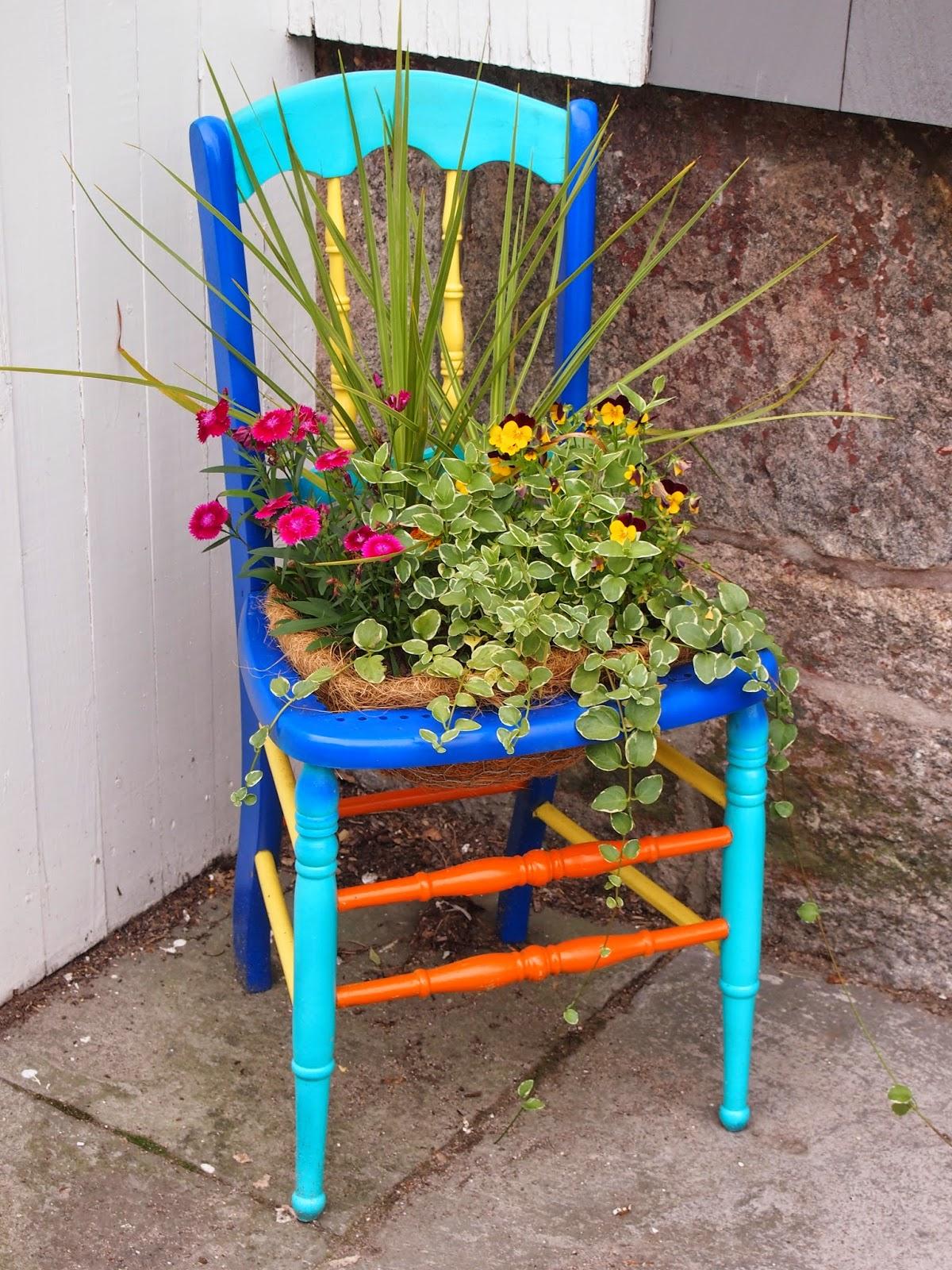 Artistic chair in Stonington Borough