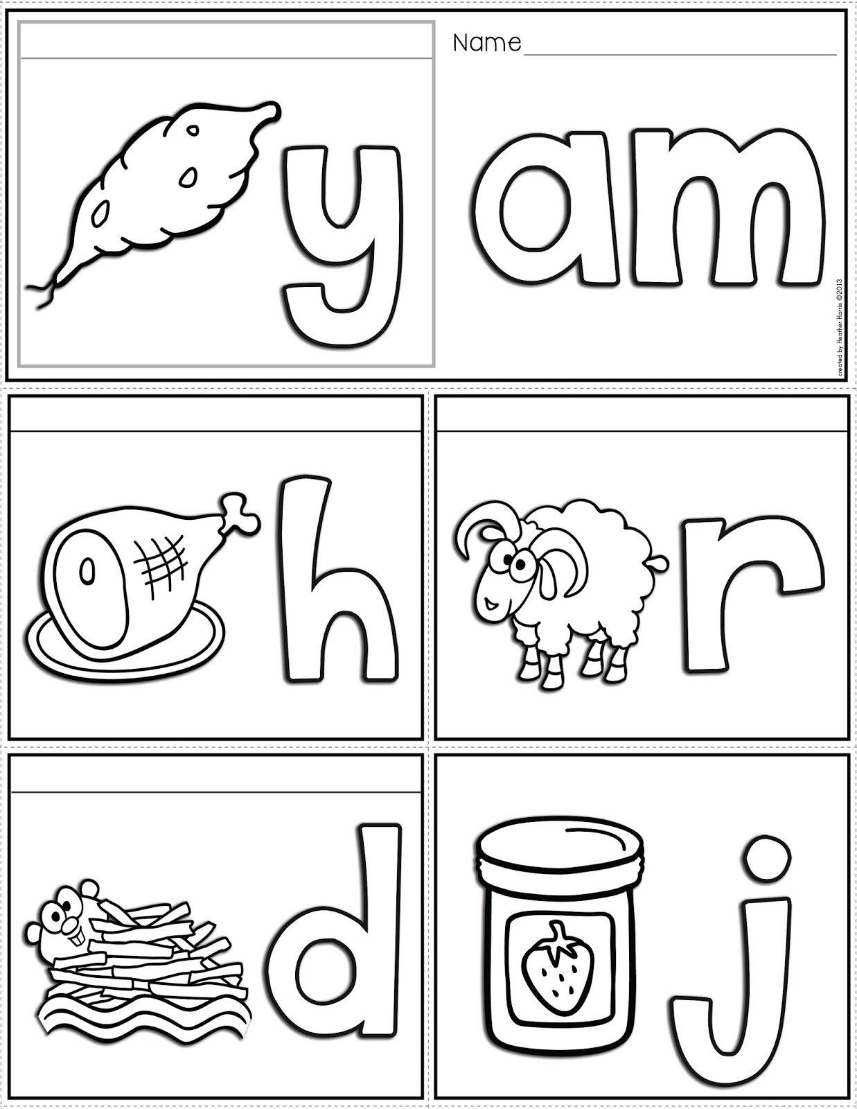Word Family Worksheets Abitlikethis