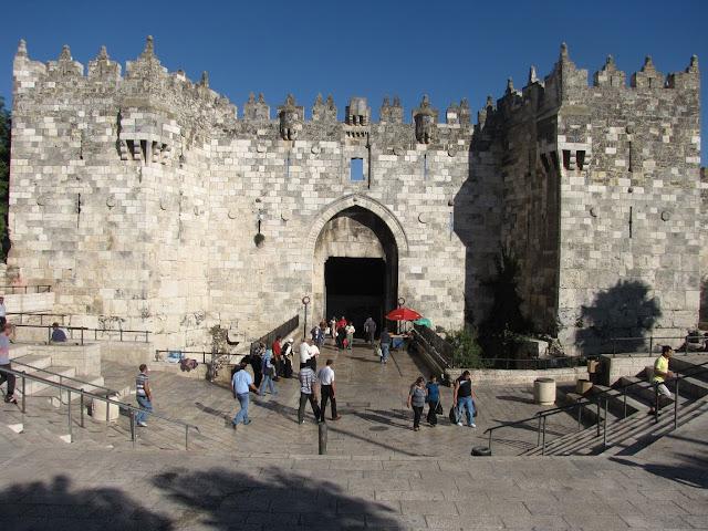 Israel, Jerusalen - Puerta de Damasco