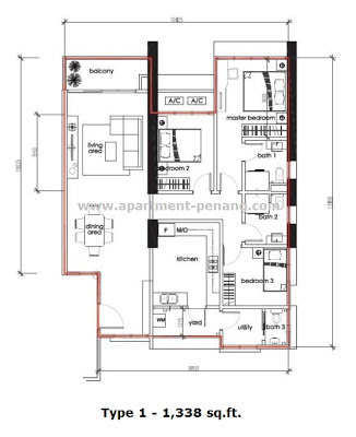 Sandilands Condominium Apartment Penang Com