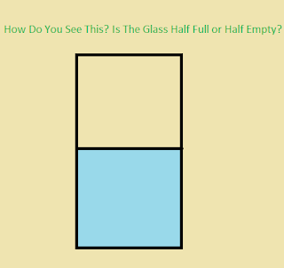 Is your glass half full or half empty