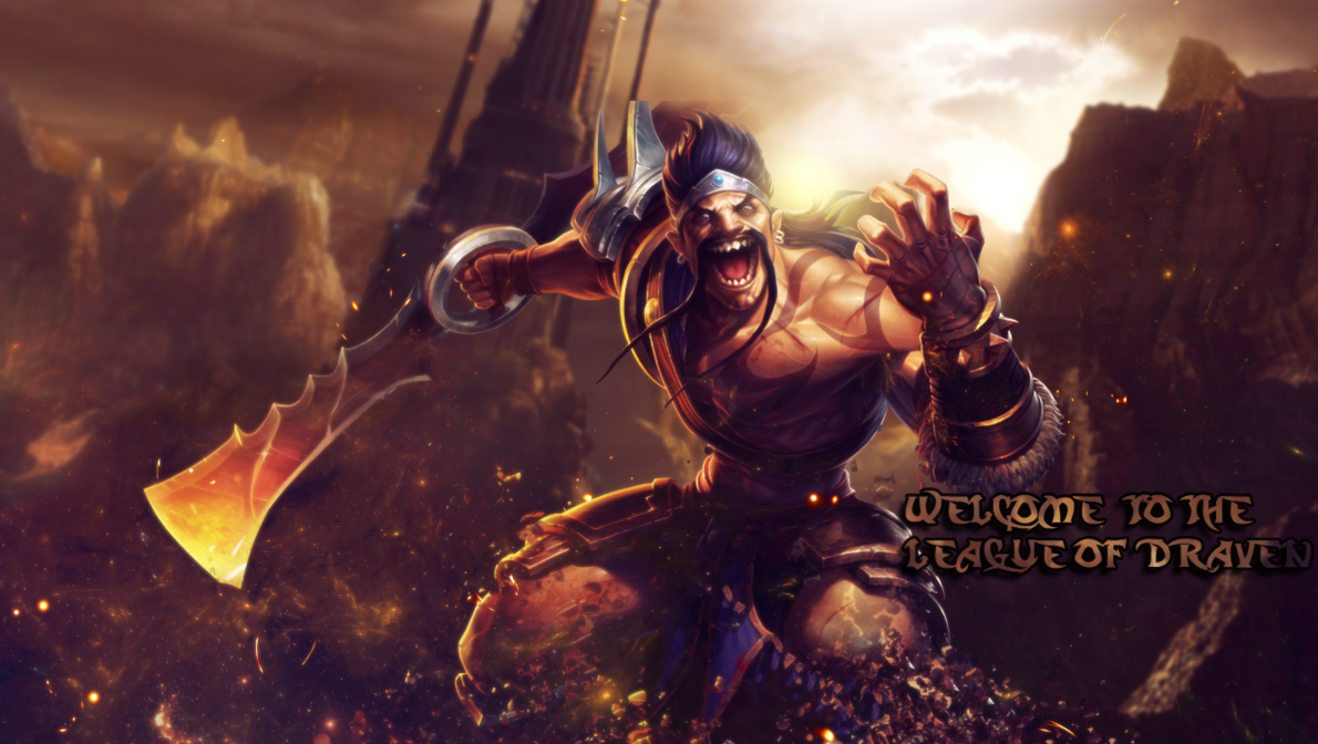 Draven Solando um Pentakill - GamersPro BRLeague Of Legends Wallpaper Darius Draven