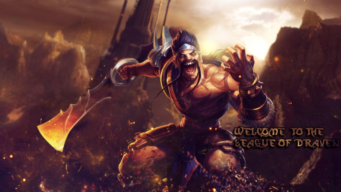 Draven Solando um Pentakill - GamersPro BRLeague Of Legends Wallpaper Darius Draven