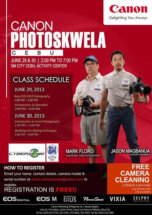 Canon Photoskwela Cebu