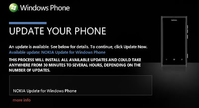 Firmware Update Nokia Lumia 800 Optimize Performance Battery