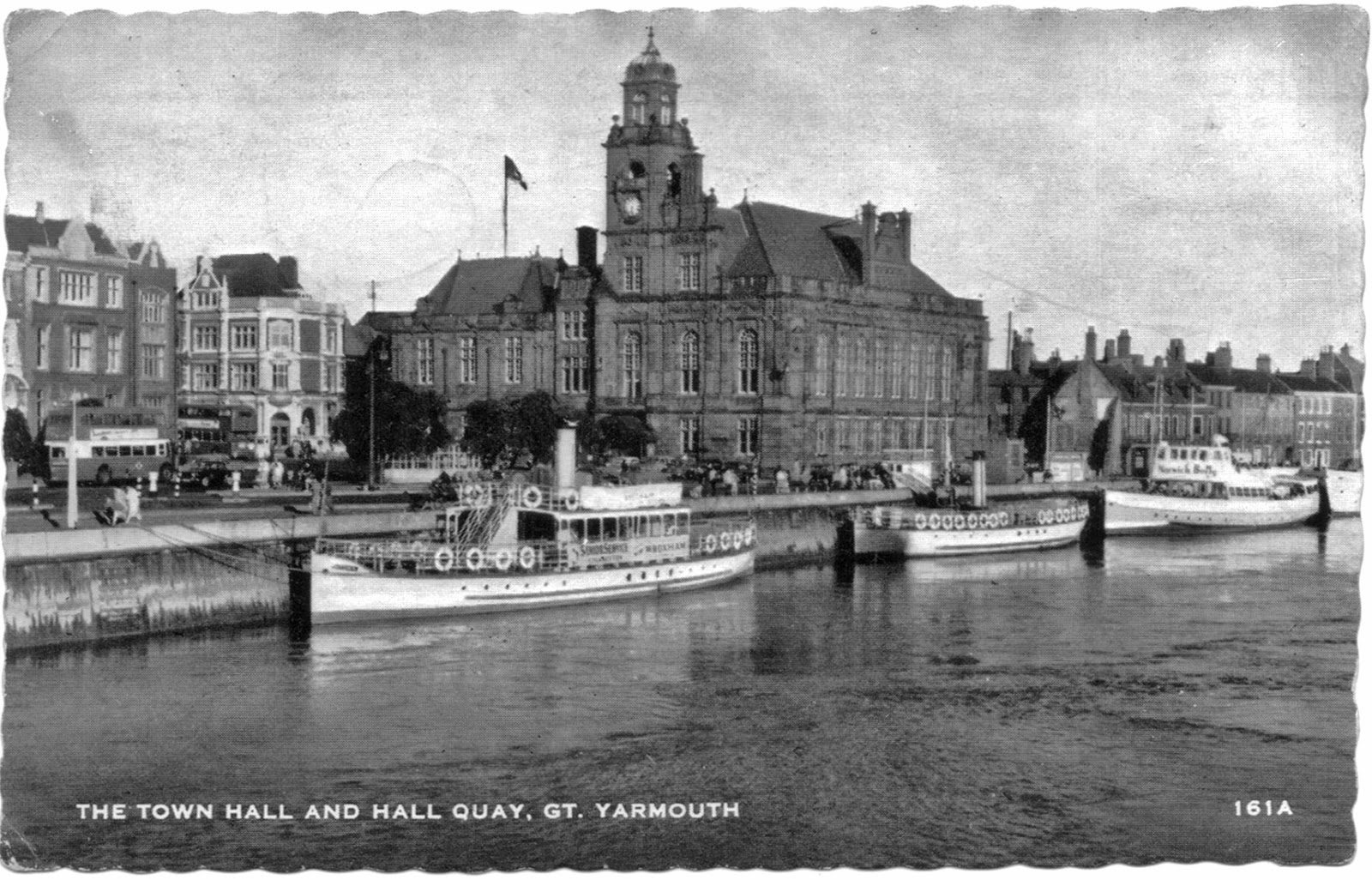 Town Hall and Hall Quay, Great Yarmouth