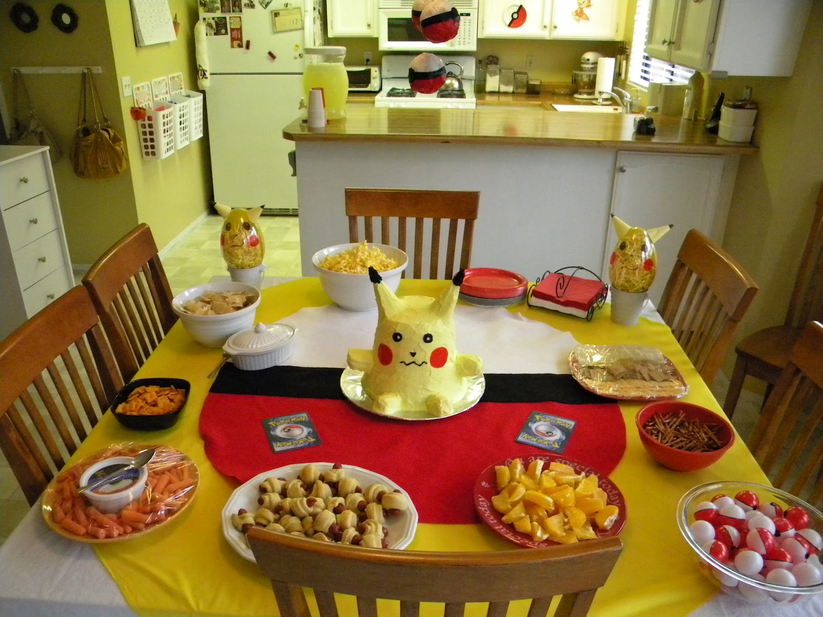 Gallery For gt Pikachu Birthday Party