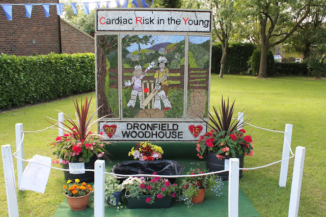Derbyshire well dressing Dronfield Woodhouse