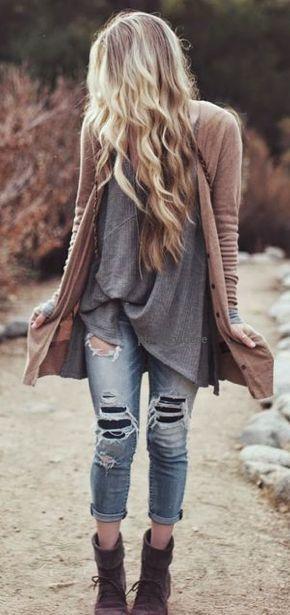 แฟชั่นกางเกงยีนส์ขาดๆ สุดเซอร์สำหรับผู้หญิง เปลี่ยนลุคส์เป็นสาวเท่
