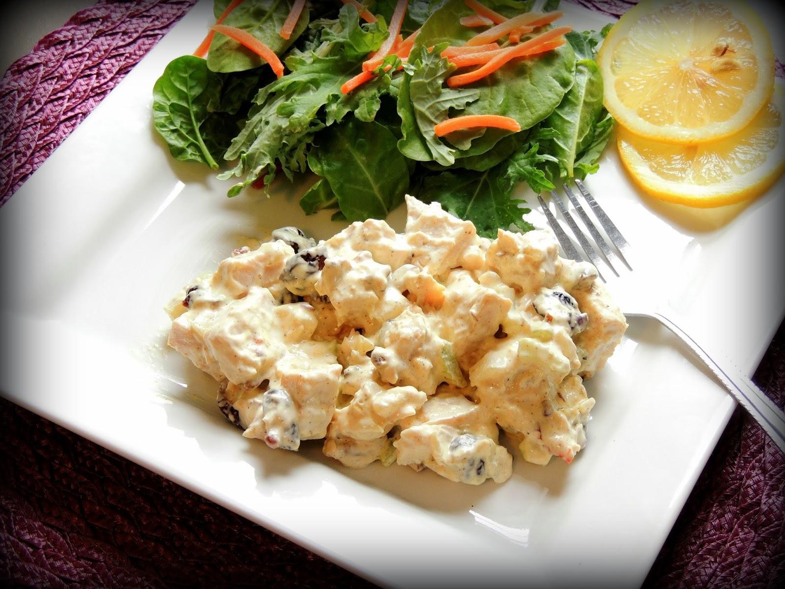 The Seasoned Chef : Curry Turkey Salad