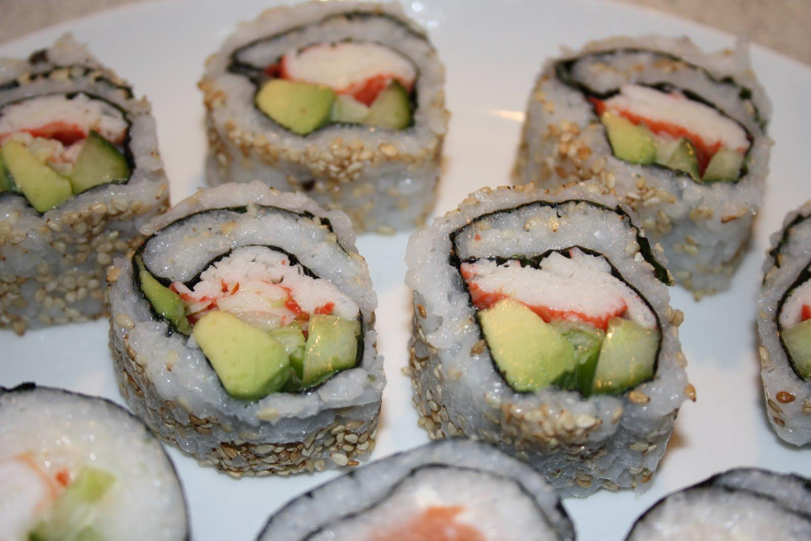hvordan laver man sushi