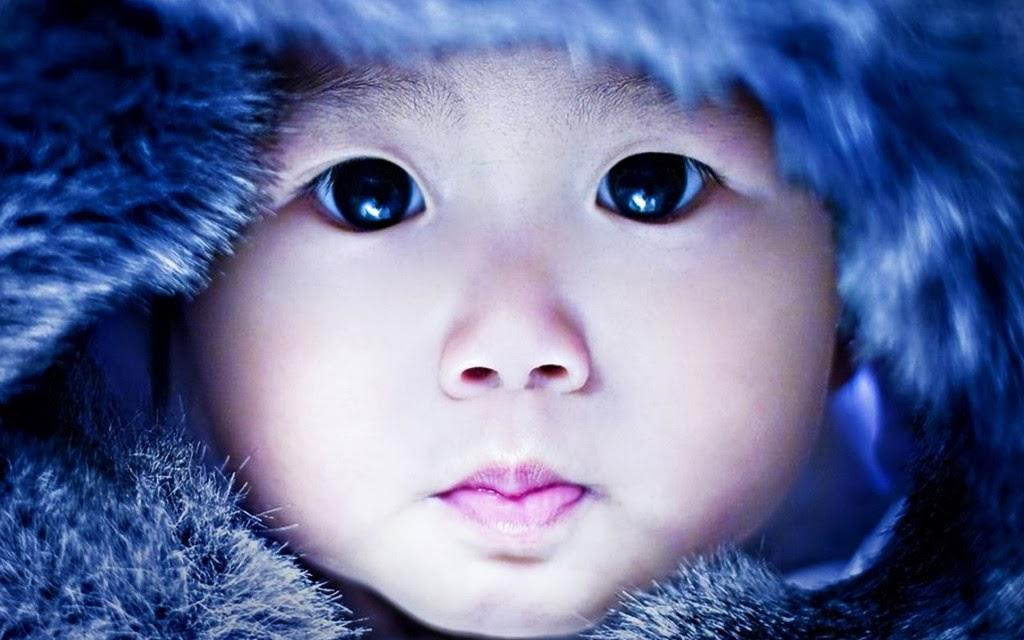 cute babies eyes