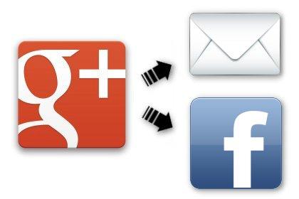 如何讓 Google+ 訊息在行動裝置分享到 Facebook 及 Email