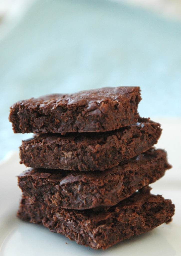 Simply Suzanne's AT HOME: decadent brownies