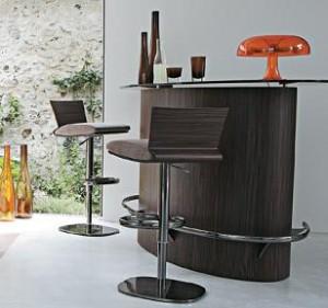 Decoraci n minimalista y contempor nea muebles modernos for Modelos de bares de madera modernos
